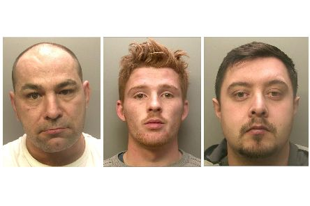 Surrey Police investigated a series of cash ram raids. Jason Mobey, Jimmy Shea and Les Keet