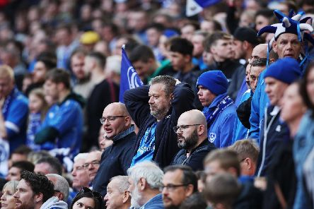 Pompey's Carabao Cup clash with Birmingham City is to be televised on Sky. Picture: Joe Pepler