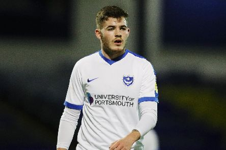 Striker Bradley Lethbridge has graduated from Pompey's Academy to rub shoulders with Kenny Jackett's first-team squad. Picture: Joe Pepler