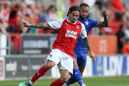 Former Rotherham winger Ryan Williams has returned to Fratton Park, the club he left seven-and-a-half years ago. Picture: Nigel Roddis/Getty Images