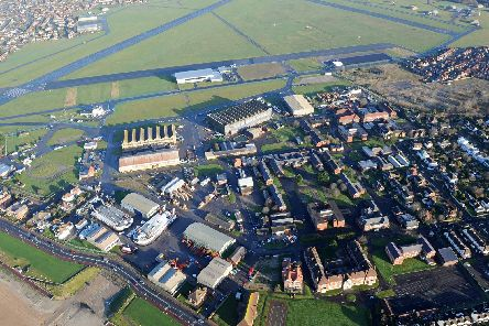 An aerial view of the Solent Enterprise Zone at Daedalus