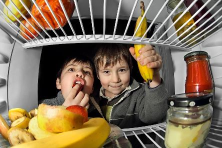 FEASTING: Time for a padlock on the fridge?