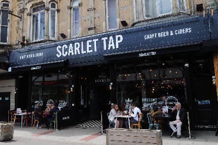 The Scarlet Tap. Picture: Sarah Standing (270519-416)