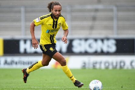 Pompey target Marcus Harness. Photo by Nathan Stirk/Getty Images