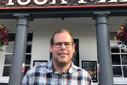 Scott Armstrong, the new manager at the Wicor Mill.