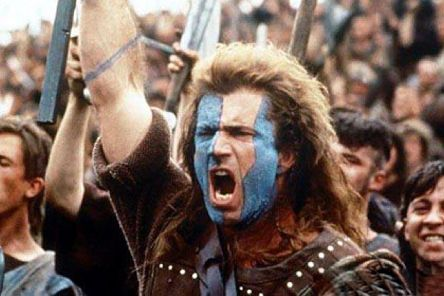 Even Braveheart would shiver with cold in some northern towns.