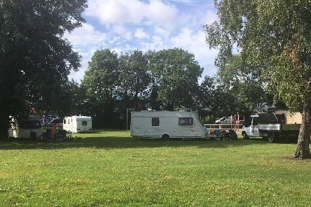 Travellers at Gatcombe Park in Hilsea