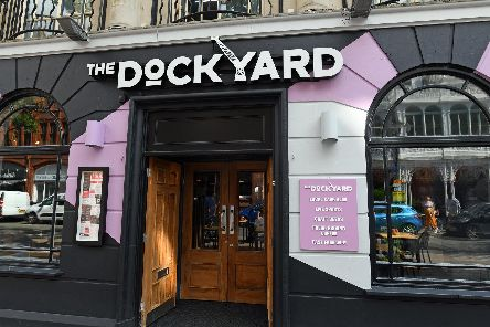 The Dockyard - a new addition to Guildhall Walk in Portsmouth, Hampshire has opened after a massive refurbishment of the site offering a retro gaming area and a stunning array of 22 screen for sports enthusiasts.