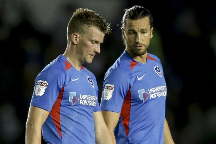 Paul Downing, left and Christian Burgess. Picture: Robin Jones.
