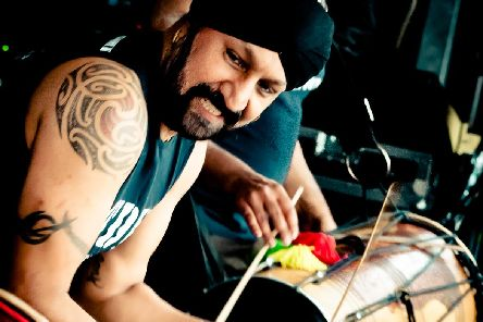 Johnny Kalsi, founder of The  Dhol Foundation