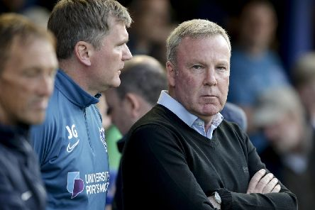 Pompey boss Kenny Jackett. Picture: Robin Jones