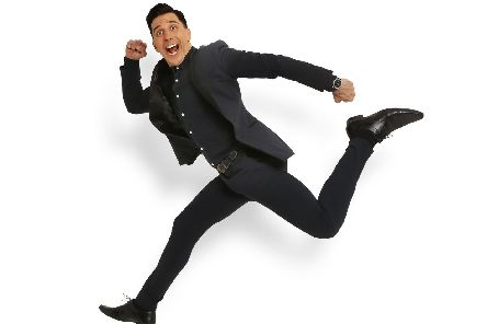 Russell Kane is coming to Mayflower Theatre and The Kings with his new show, the Fast and The Curious. Picture by Andy Hollingworth