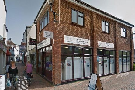Cornerstone Christian Bookstore in Gosport was broken into this week. Picture: Google Maps