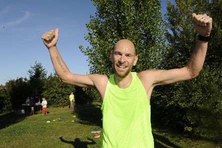 Fareham parkrun winner Paul Mitchinson.