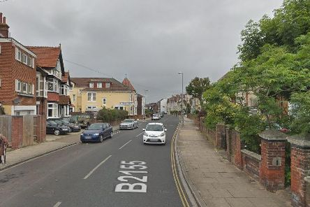The incident happened in Waverley Road, Southsea. Picture: Google Maps