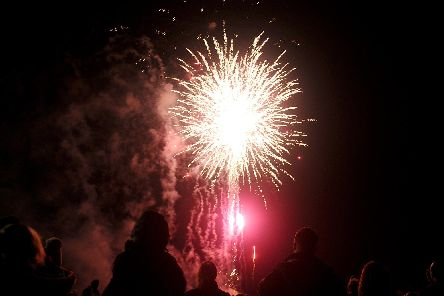 Stockheath Common in Leigh Park, held their annual fireworks evening on Monday November 5, 2018.''Picture: Sarah Standing (180814-8708)