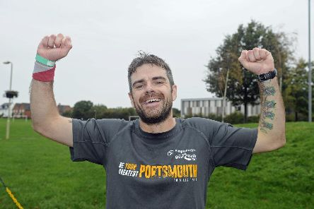 Patrick Connors was first to finish at Whiteley