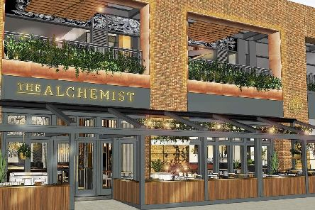 What the Alchemist bar at Gunwharf Quays could look like ''Picture courtesy of The Alchemist Bars & Restaurants Ltd'May 2019