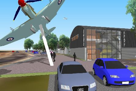 An application for six 'hangar homes' and a heritage centre was submitted to Gosport Borough Council. Picture: Peter Day / Hanger Homes