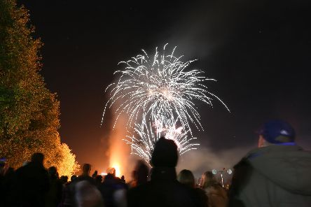 Cosham fireworks display will take place tonight. Picture: Habibur Rahman