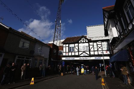 Pompey have been buying unspecified property around Fratton Park under owners Tornante. Picture: Steve Bardens/Getty Images
