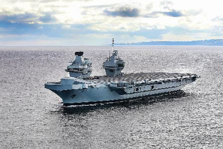HMS Prince of Wales. Picture: Alex Ceolin