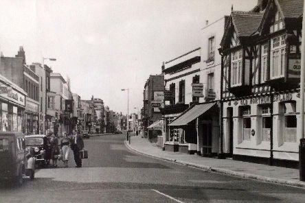 A further view of High Street, Gosport. Picture: Mick Cooper postcard collection.