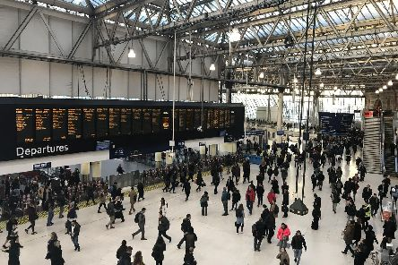 Hundreds of thousands of rail passengers face travel misery during a series of strikes in the long-running dispute over guards on trains. Picture: Luke Powell/PA Wire