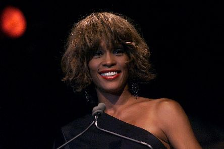 CHART-TOPPER: Will Whitney Houston be knocked off her pedestal? Picture: Scott Gries