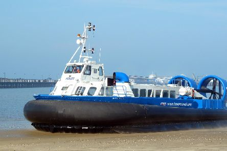 Hovertravel services have been cancelled.