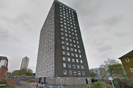 The incident happened at Tipton House. Picture: Google Maps