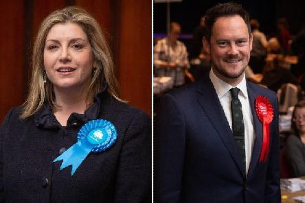 Penny Mordaunt and Stephen Morgan were both reelected