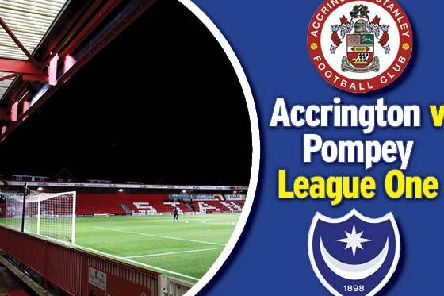 Pompey travel to Accrington today in League One