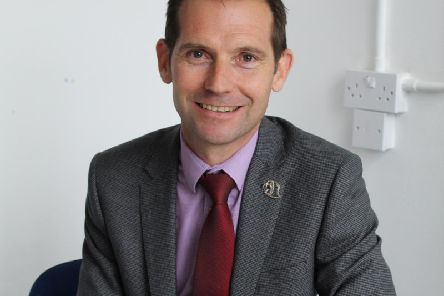 Excellent  new Headteacher, Tim Chambers
