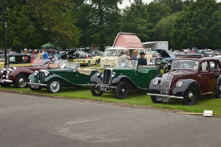 South of England Classic Vehicle Show at Bannatyne Hotel and Spa in Hastings. SUS-190623-121849001