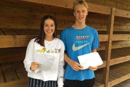 Students with their results SUS-190816-092036001