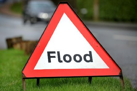 Flooding has been reported on the A23 this afternoon