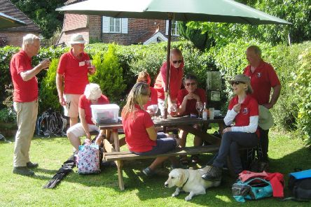 The South Downs Way team