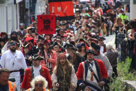 Hastings Pirate Day 2019. Photo by Roberts Photographic SUS-190715-090500001