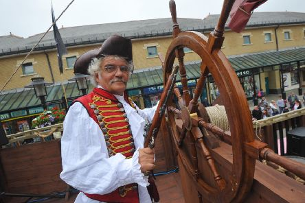 4/7/13- Pirate Ship at Priory Meadow, Hastings.  Roger Crouch ENGSUS00120130507100716