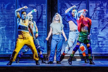 Flashdance is at the Theatre Royal Brighton this week