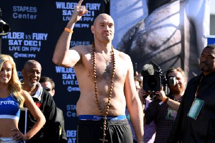 Tyson Fury. Picture: Getty Images