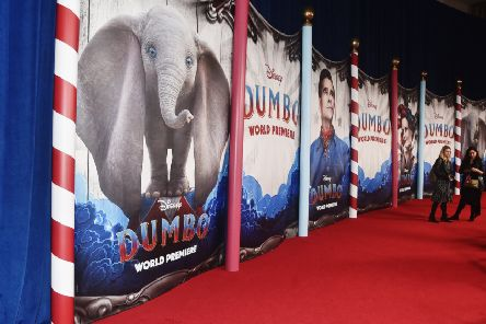 The world premiere of Disney's Dumbo at the El Capitan Theatre in Los Angeles earlier this month  (Photo by Alberto E. Rodriguez/Getty Images for Disney)