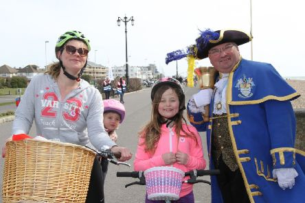 Pedal on the prom