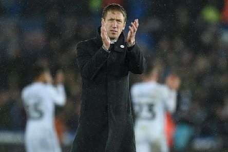 Brighton boss Graham Potter
