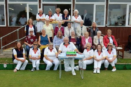 Steyning Bowls Club is celebrating its 50th anniversary