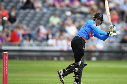 Alex Carey will be swapping blue for white when he plays for Sussex against Middlesex in the championship / Picture: Getty Images