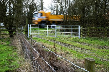 The Ham Farm site off the A283 has been allocated in a draft plan for soft sand extraction