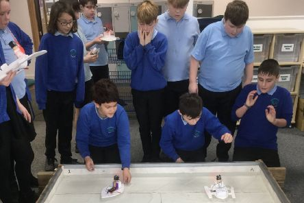 Year six pupils at Buckingham Park Primary School in Shoreham took part in a STEM day