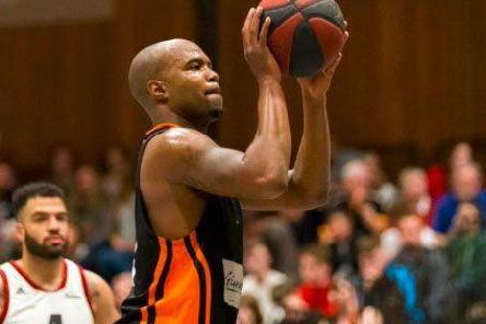Zaire Taylor scored 18 points in Worthing Thunder's defeat to Loughborough Riders. Picture: Kyle Hemsley